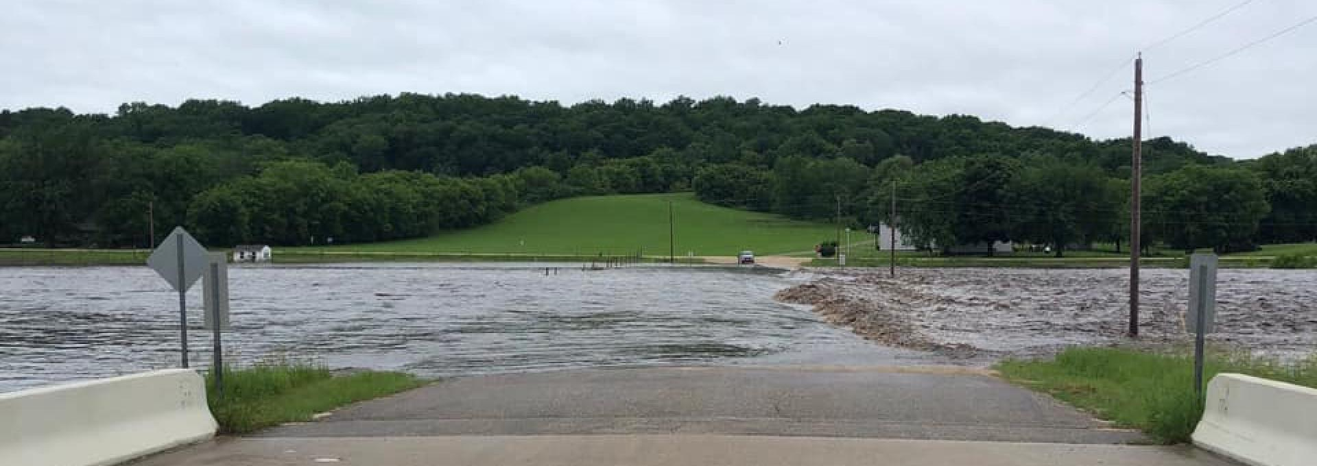 Flooding in Olmsted County