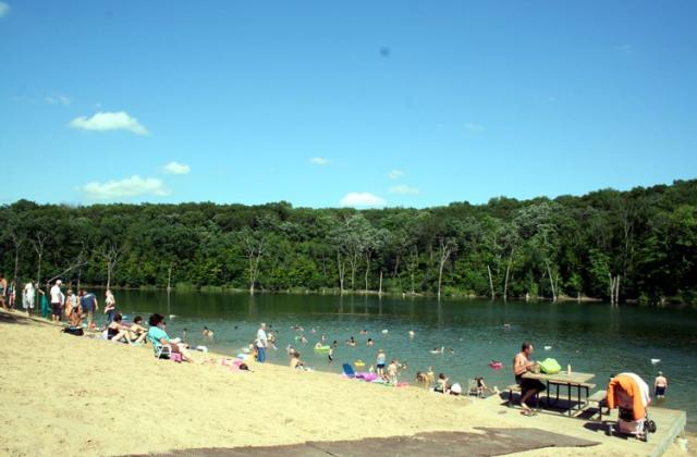 Swimming at Chester Woods
