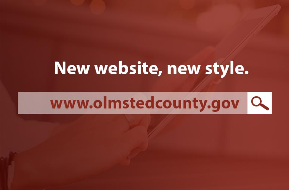 Olmsted County unveils new, modern, mobile-friendly website