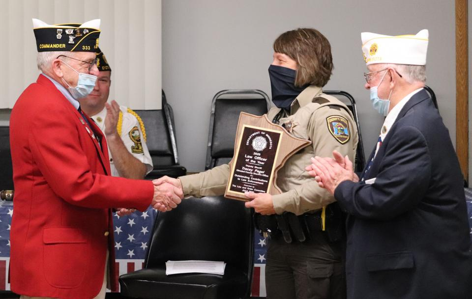 Deputy Tracey Pagel Named Minnesota's 2020 American Legion Law Enforcement Officer of the Year